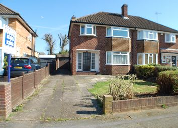 Thumbnail 3 bed semi-detached house for sale in Elderfield Road, Stoke Poges