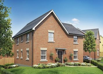 "Thumbnail 4 bed detached house for sale in ""Alderney"" at Post Hill, Tiverton"