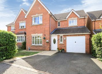 Thumbnail 4 bedroom detached house for sale in Farndish Close, Rushden