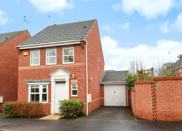 Thumbnail 3 bed link-detached house for sale in Rayner Drive, Arborfield, Reading, Berkshire
