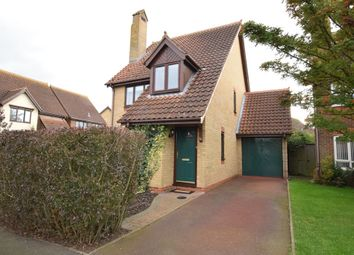 Thumbnail 3 bed detached house for sale in Kestrel Way, Sandy, Bedfordshire
