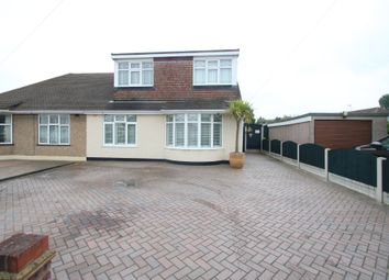 Thumbnail 3 bed semi-detached house for sale in Cornhill Avenue, Hockley