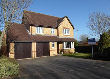 Thumbnail 4 bed detached house for sale in Coopers Green, Bicester