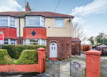 Thumbnail 3 bed semi-detached house for sale in Larne Avenue, Edgeley, Stockport, Cheshire