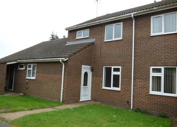 Thumbnail 2 bed terraced house to rent in Silverwood Close, Pakefield, Lowestoft
