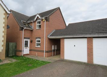 Thumbnail 3 bed detached house for sale in Rochester Close, Bracebridge Heath