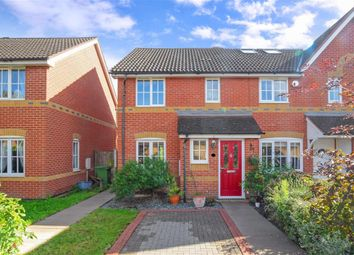 Thumbnail 3 bed end terrace house for sale in Karina Close, Chigwell, Essex