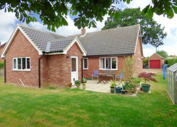 Thumbnail 3 bed detached bungalow for sale in Hallowing Crescent, Great Moulton, Norwich