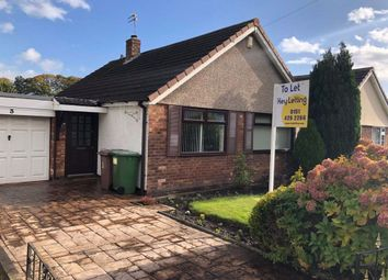 Thumbnail 2 bed bungalow to rent in Elmswood Avenue, Rainhill, Prescot