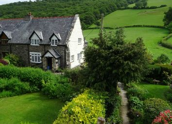 Thumbnail 3 bed semi-detached house for sale in Llawryglyn, Caersws, Powys