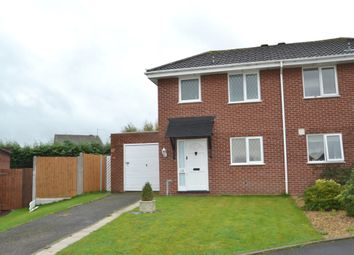 Thumbnail 2 bed semi-detached house for sale in Aston Drive, Newport