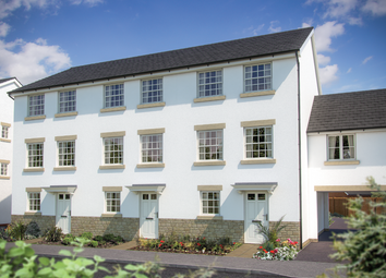 Thumbnail 3 bed town house for sale in Cloakham Drive Axminster, Devon