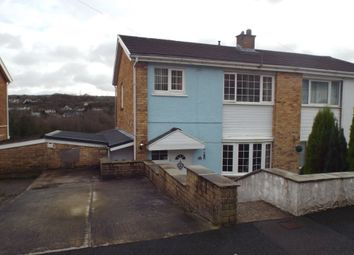 Thumbnail 3 bed semi-detached house for sale in Heol Y Brandy, Pontyberem, Llanelli