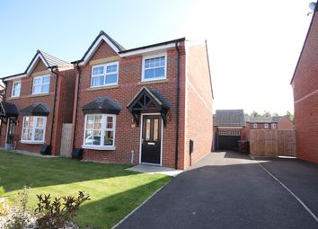 Thumbnail 4 bed detached house for sale in Carroll Close, Leigh