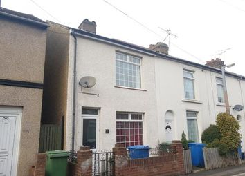 Thumbnail 2 bed end terrace house for sale in William Street, Sittingbourne, Kent