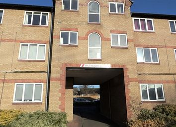 Thumbnail 2 bed flat for sale in Farnsworth Court, Fleet Way, Peterborough, Cambridgeshire.