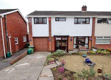 Thumbnail 3 bed semi-detached house for sale in Maes-Y-Rhedyn, Talbot Green, Pontyclun, Rhondda, Cynon, Taff.