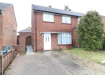 Thumbnail 3 bed semi-detached house to rent in Acworth Crescent, Luton