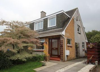 Thumbnail 3 bed semi-detached house for sale in Fife Place, Fairlie, Largs, North Ayrshire