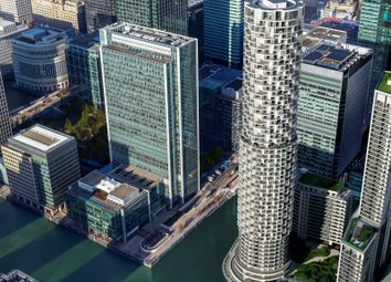 Thumbnail 2 bedroom flat for sale in One Park Drive, Canary Wharf
