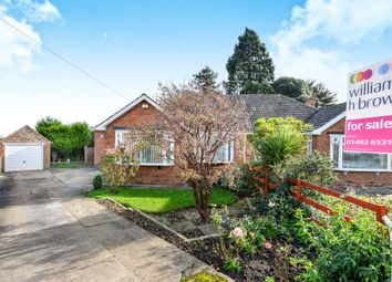 Thumbnail 2 bed semi-detached bungalow for sale in Four Acre Close, Kirk Ella, Hull