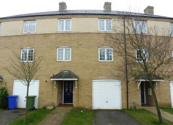 Thumbnail 4 bed town house for sale in Georges Drive, Grange Park, Northampton