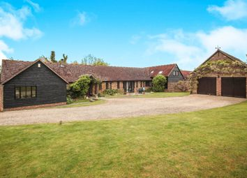 Thumbnail 4 bed barn conversion for sale in West End Farm, Long Marston Road, Cheddington