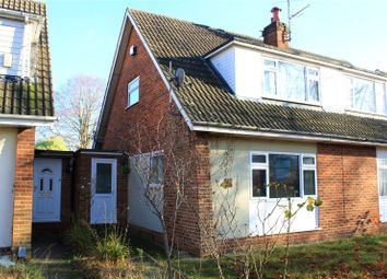 Thumbnail 2 bedroom semi-detached house for sale in Fairwater Drive, Woodley, Reading, Berkshire
