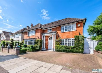 Thumbnail 4 bed detached house for sale in Limes Avenue, Mill Hill, London
