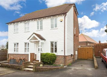 Thumbnail 2 bed semi-detached house for sale in Carpenters Close, Rochester, Kent
