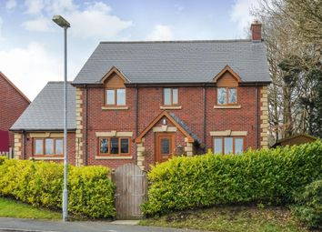 Thumbnail 4 bed detached house for sale in Churchlands, Llanyre, Llandrindod Wells