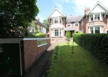 Thumbnail 3 bedroom semi-detached house for sale in Chapel Lane, Knighton, Leicester