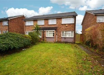 Thumbnail 3 bed semi-detached house for sale in Bonney Way, Swanley, Kent