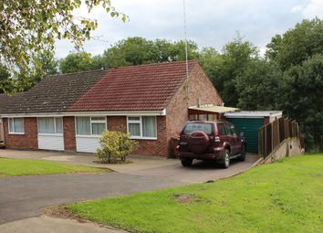 Thumbnail 2 bedroom semi-detached bungalow for sale in Starre Road, Bury St. Edmunds
