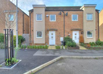 Stirling Mews, Broughton, Milton Keynes MK10. 3 bed semi-detached house for sale