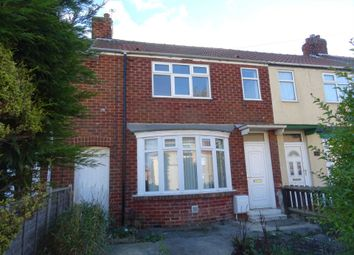 Thumbnail 3 bed terraced house to rent in Waverley Terrace, Hartlepool