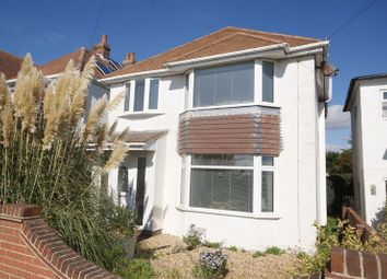 Thumbnail 3 bed detached house for sale in Portsmouth Road, Lee-On-The-Solent
