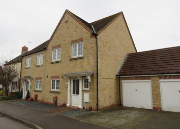 Thumbnail 3 bed end terrace house for sale in Kenzie Drive, Sutton Bridge, Spalding