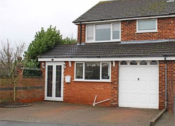 Thumbnail 3 bedroom semi-detached house for sale in Francis Close, Polesworth, Tamworth, Warwickshire