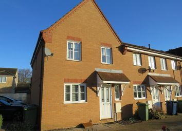 Thumbnail 3 bed end terrace house for sale in Burdett Grove, Whittlesey, Peterborough