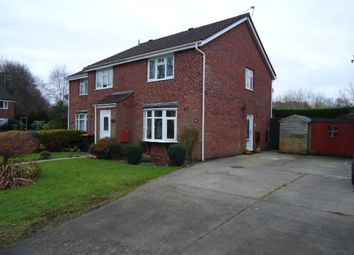 Thumbnail 2 bed semi-detached house to rent in St. Brides Gardens, Newport