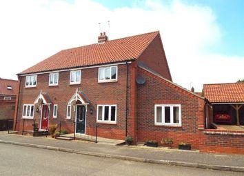 Thumbnail 3 bed semi-detached house for sale in Heacham, King's Lynn, Norfolk