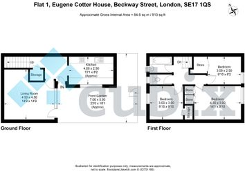 Thumbnail 3 bed maisonette for sale in Beckway Street, Elephant And Castle