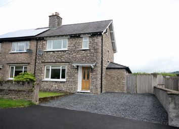 Thumbnail 3 bed semi-detached house for sale in Castle Oval, Kendal