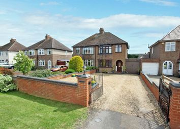 Thumbnail 3 bed semi-detached house for sale in Ridge Road, Kempston, Bedford