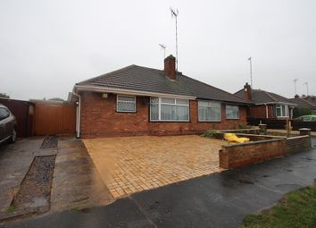 Thumbnail 2 bed bungalow to rent in Rutland Drive, Leicester