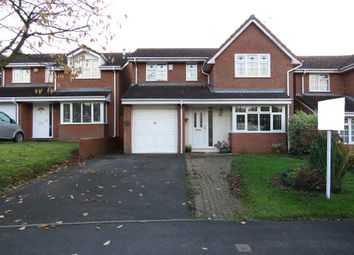 Thumbnail 4 bed detached house for sale in St David Close, Hednesford, Cannock