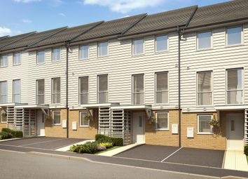 """Thumbnail 3 bed terraced house for sale in """"Faversham"""" at Temple Hill, Dartford"""