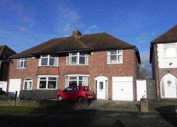 Thumbnail 4 bed semi-detached house for sale in Harborough Road, Oadby, Leicester, Leicestershire