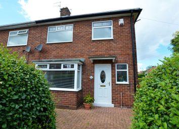 Thumbnail 3 bedroom semi-detached house for sale in Druridge Drive, North Fenham, Newcastle Upon Tyne